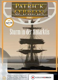 Sturm in der Antarktis. Hörbuch auf mp3-CDs.