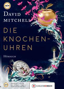 Mitchell: Die Knochenuhren. Hörbuch auf mp3-CDs.