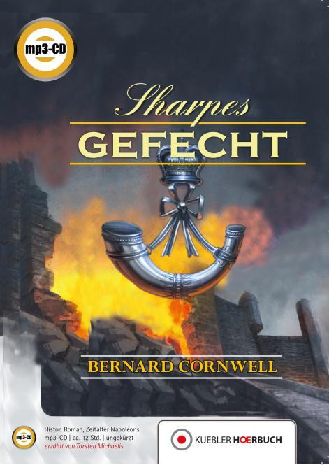 Sharpes Gefecht. Hörbuch auf mp3-CD.